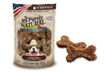 It's Purely Natural® Chicken Jerky Bone-Shaped