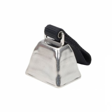 Remington® Nickel Cow Bell for Dogs Large