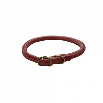 Circle T® Rustic Leather Round BRK