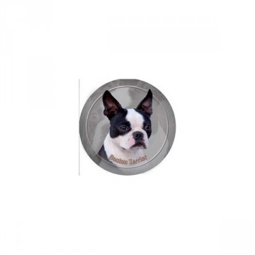 Boston Terrier 3D Dekal