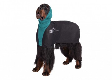 Mesh Straightening Coat for Springer Spaniel and Border Collie