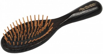 Oval Wood Pin Brush Small