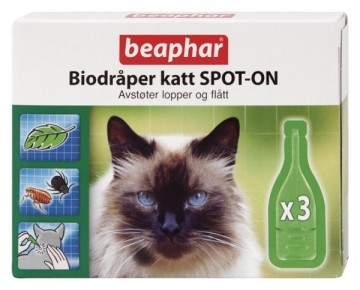 Biodråper Katt Spot-On