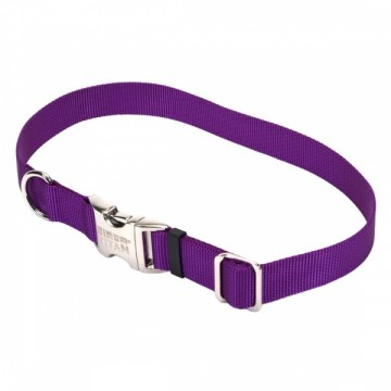 Coastal® Adjustable Collar Metal Large Purple