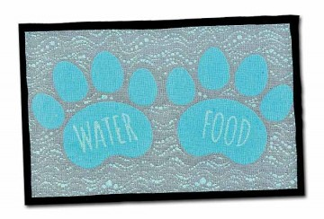 Bella Fashion Mats - Food & Water