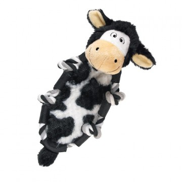 KONG Barnyard Knots Cow Small