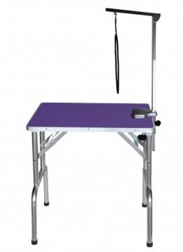 SS Grooming Table Purple S