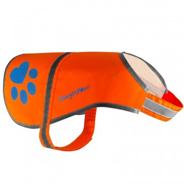 SafetyPUP Refleksvest - Orange Small
