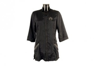 Tikima Aleria Shirt Black Medium