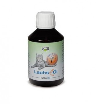 Cat Care Plus Lakseolje