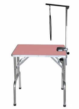SS Grooming Table Pink S