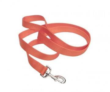 Nylon Leash Sunseth Orange Medium
