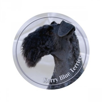 Kerry Blue Terrier 3D Dekal
