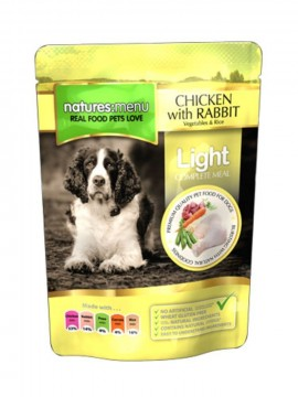 Natures Menu Light Kylling, Kanin 300g