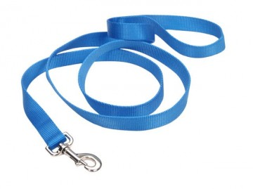 Nylon Leash Blue Lagoon