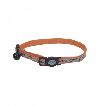 Harley-Davidson® Reflective Adjustable Breakaway Cat Collar OFS