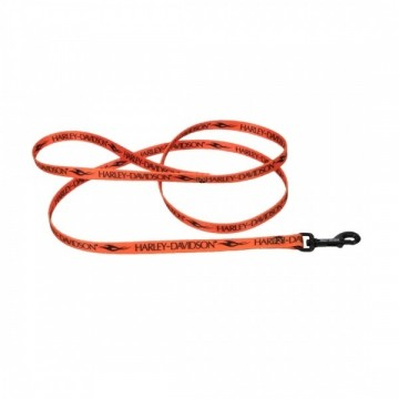 "Harley-Davidson® Pattern Leash 6"" ORN Small"