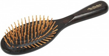 Oval Wood Pin Brush Large